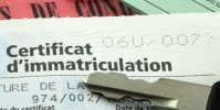 Carte d'immatriculation (carte Grise)